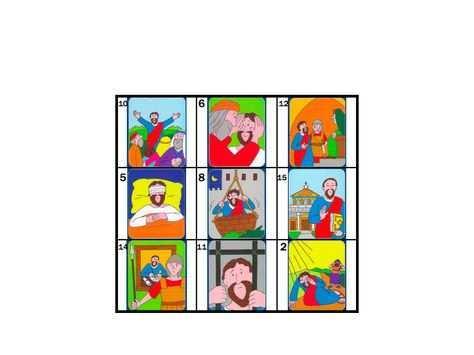 Bingo Free Printable 1 Paulus Bijbel Werkjes En Kleurplaten