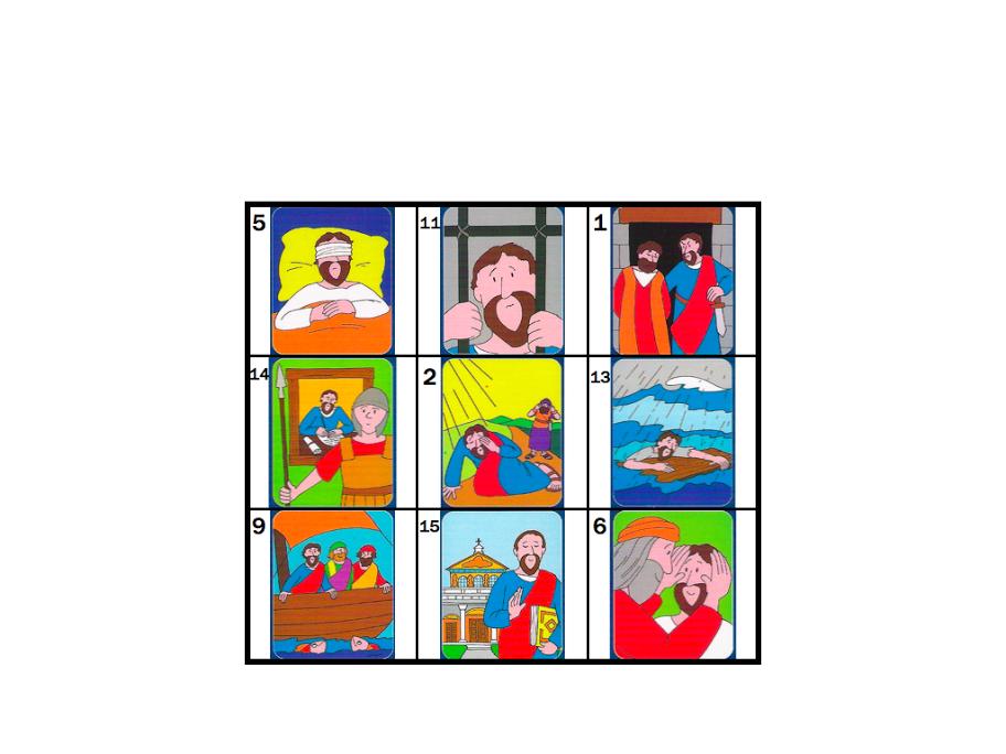 Bingo De S Paulo Bingo Bijbel Kleurplaten