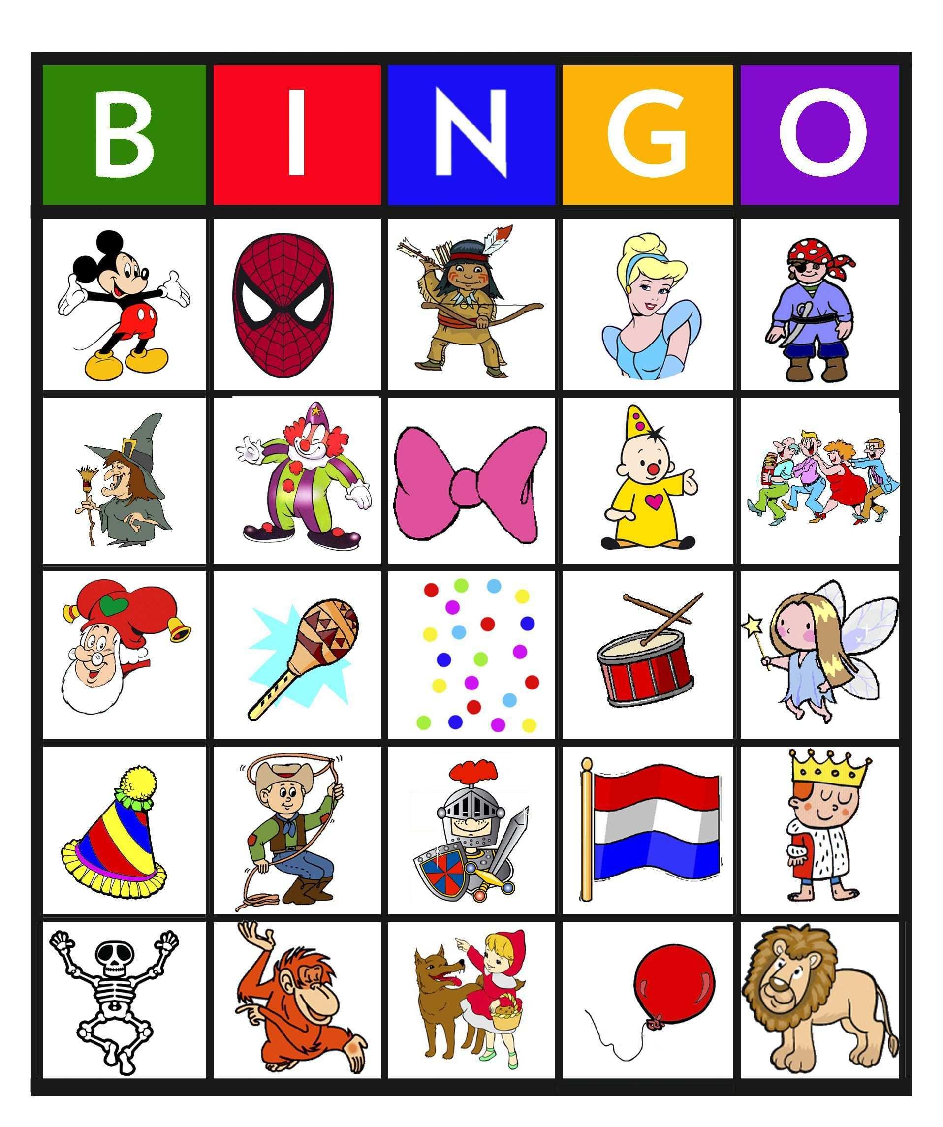Bingo Carnaval 10 25 Carnaval Spelletjes Kinderen Carnaval Spelletjes Carnaval Activiteiten