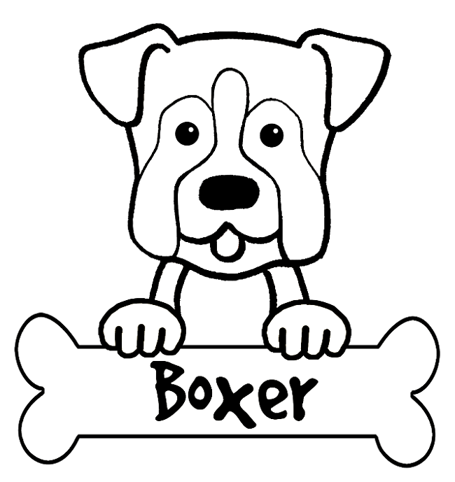 Boxer Puppy Coloring Pages Puppy Coloring Pages Dog Coloring Book Dog Coloring Page