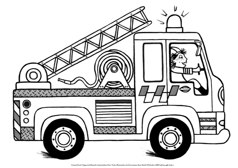Pin By Eudia Hasselbank On Omaľovanky Coloring Pages Fireman Firefighter