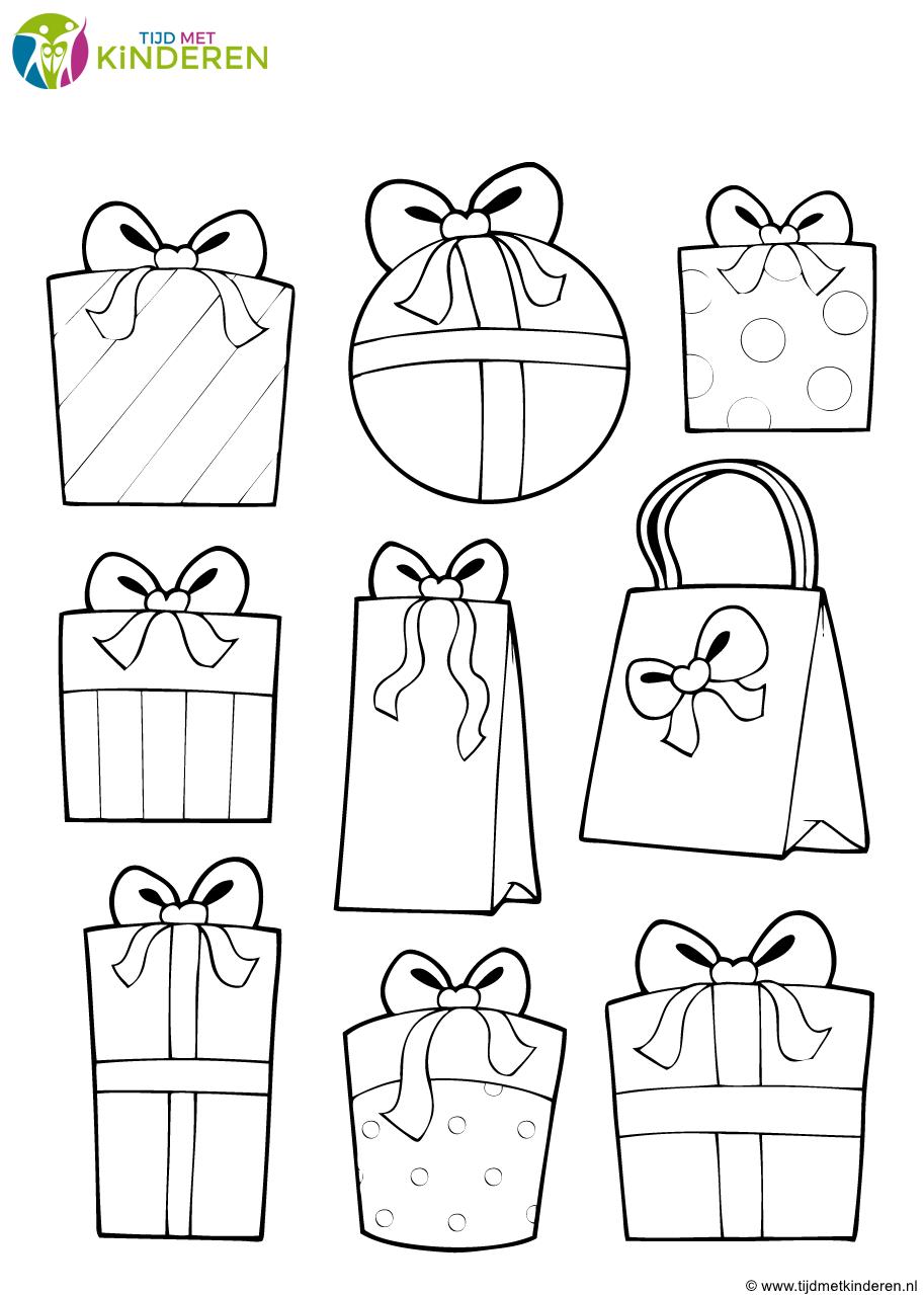 Kerst Pakjes Cadeautjes Sinterklaas