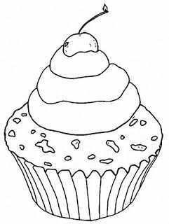 Riscos Graciosos Cute Drawings Cupcakes Sorvetes E Bolos Cupcakes Ice Creams And Cakes Tree Coloring Page Coloring Pages Black Forest Cupcakes