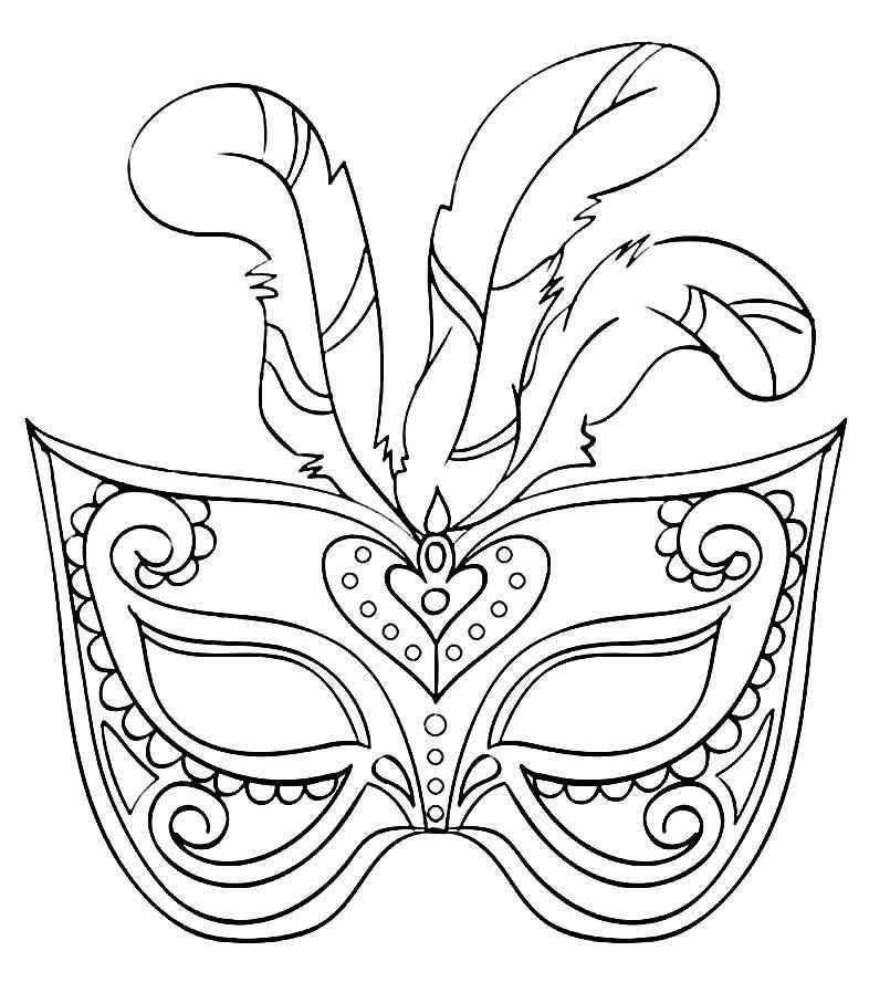 Moldes Para Mascaras De Carnaval Coloring Mask Kids Crafts Masks Carnival Masks