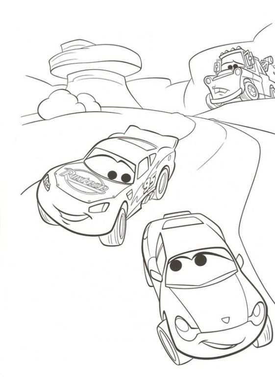 Kidsnfun Com 38 Coloring Pages Of Cars 2 Coloring Books Cars Coloring Pages Disney Coloring Pages