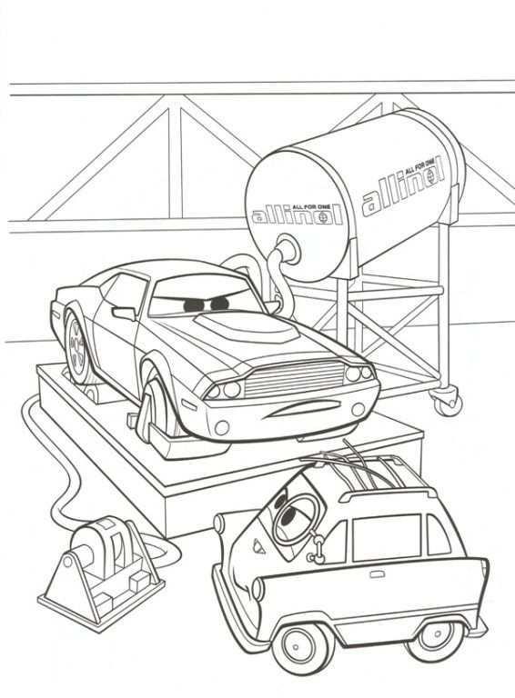 Kleurplaat Cars 2 Rod Torque Redline En Zundapp Kleurplaten Kleurplaten Voor Volwassenen Kleurboek