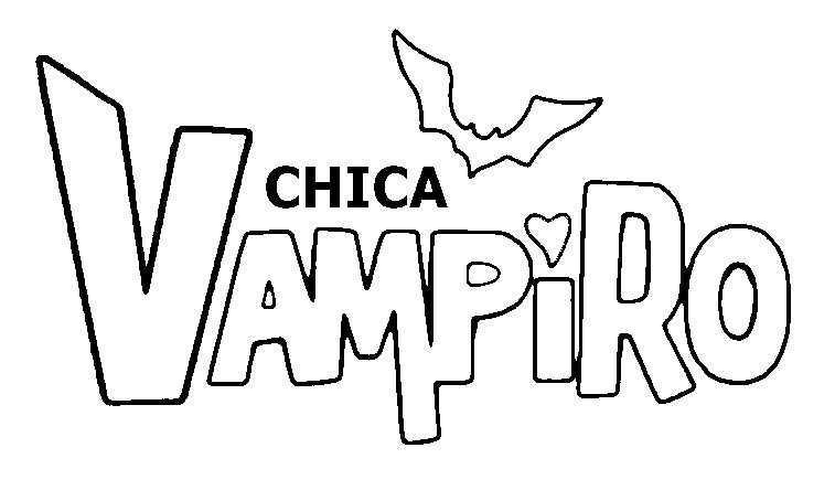 Kleurplaat Chica Vampiro Chica Vampiro 4