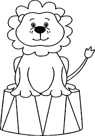 Leeuw Circus Lion Coloring Pages Animal Coloring Books Animal Coloring Pages