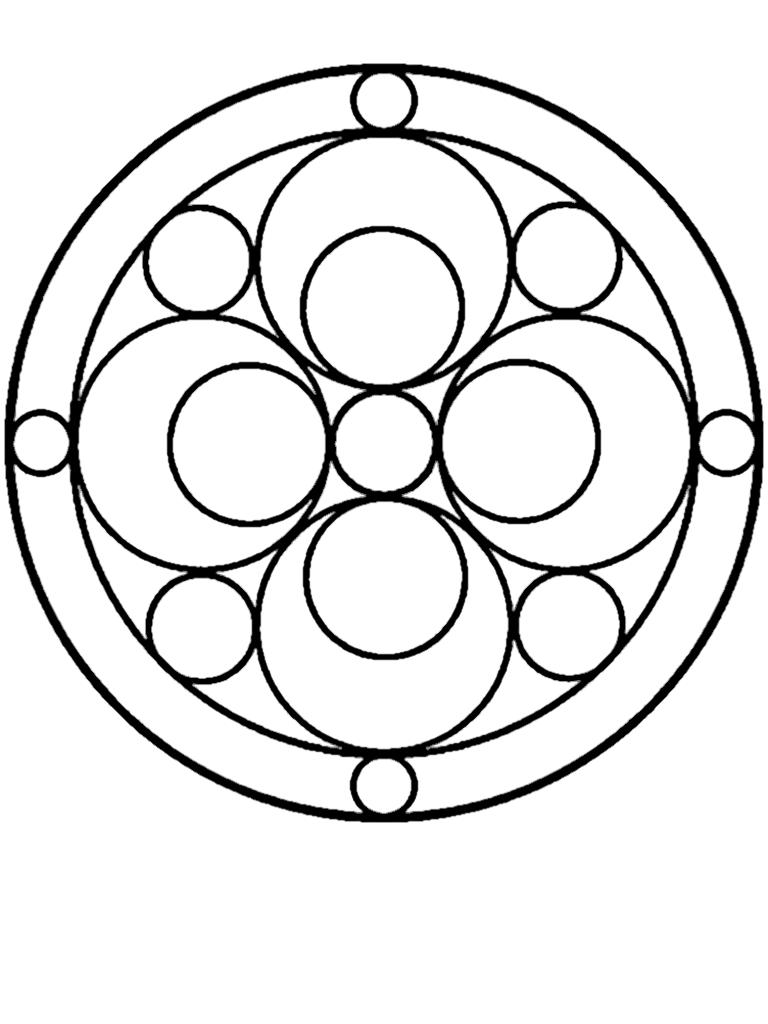 Pin By Doris Van Ginneken On Coloring Book Mandalas Dot Art Painting Mandala Design Pattern Shape Art