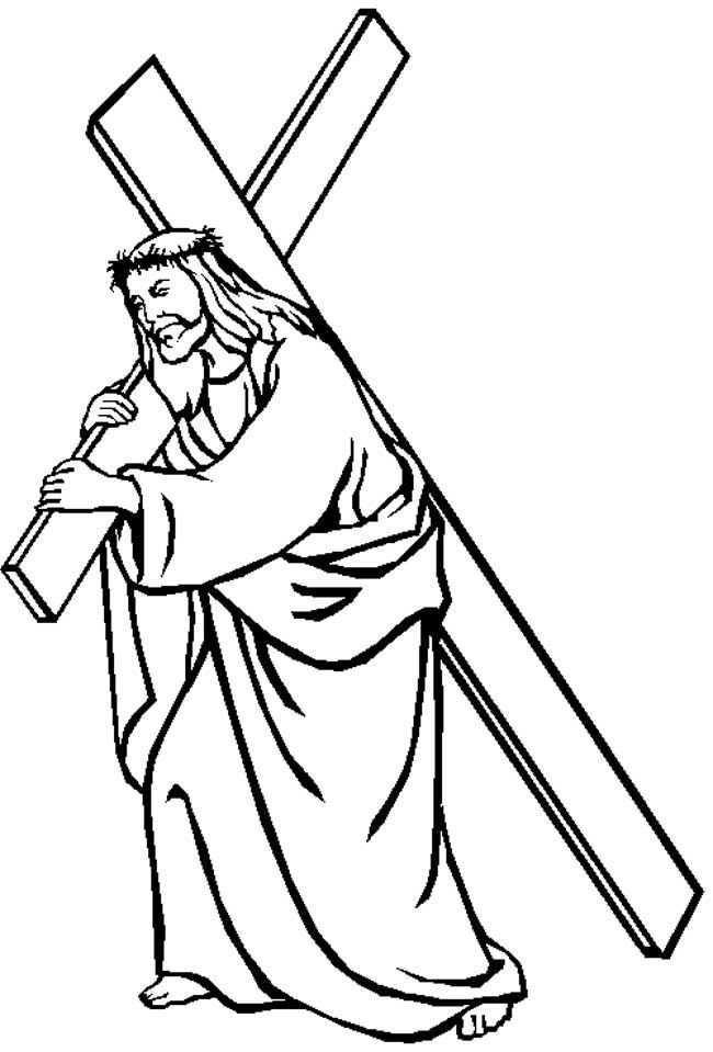 Jezus Draagt Zijn Kruis Gkv Apeldoorn Zuid Bijbel Kleurplaten Jezus Kinderkleurplaten