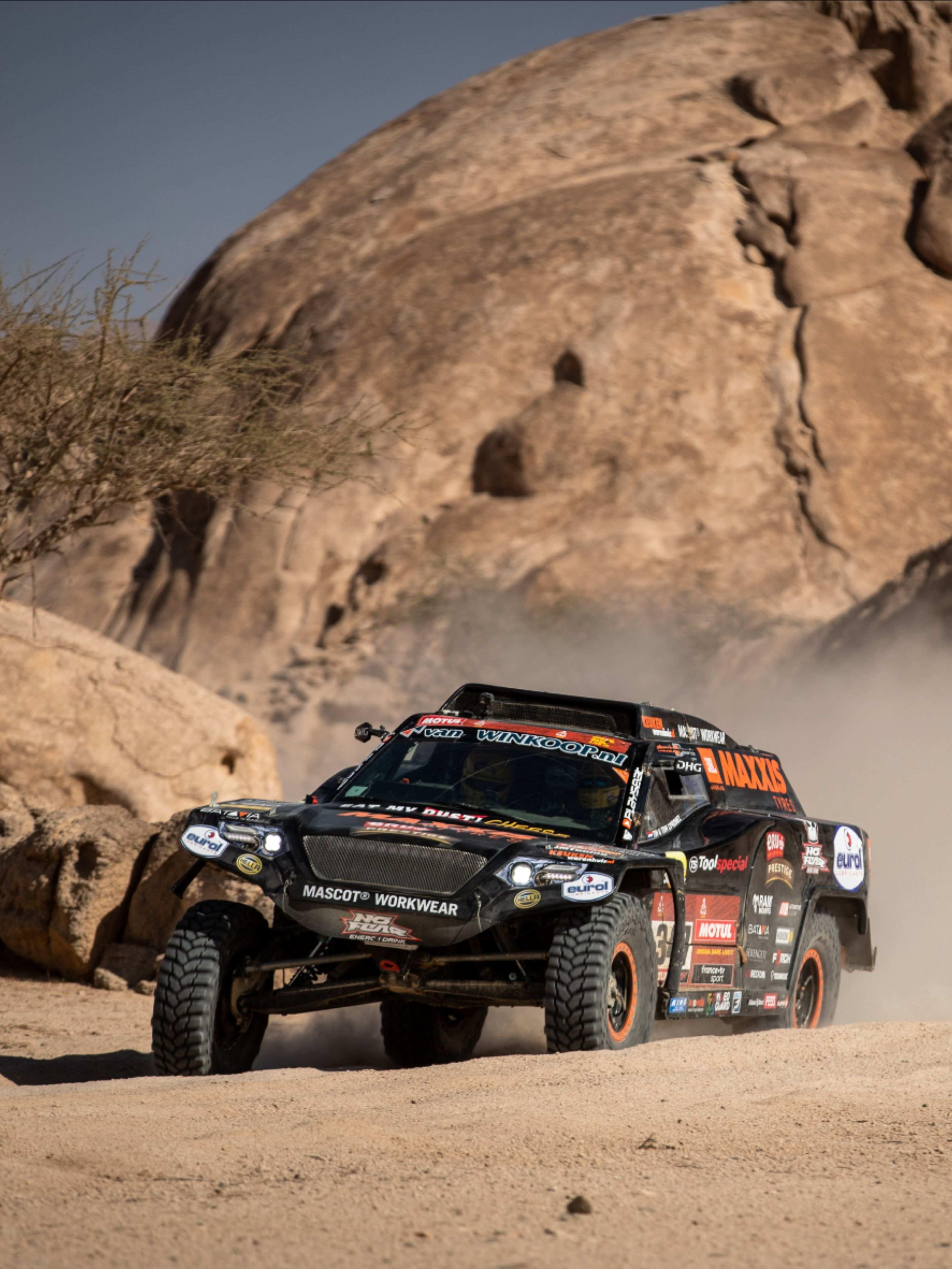 Dakar Rally With The Beast347 Dakar Rally Rally Car