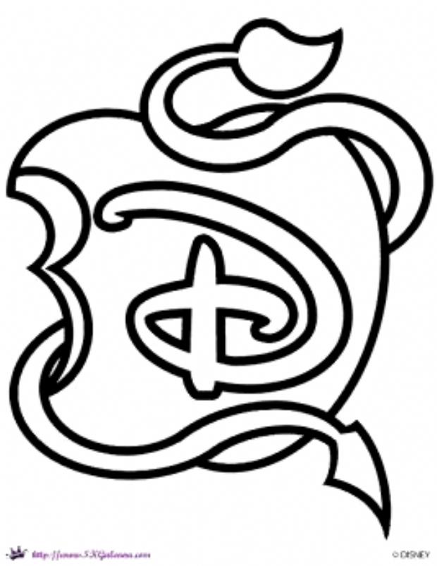 Free Disney Descendants Printables And Activities Skgaleana Disney Tekenen Descendants Eenvoudige Tekeningen