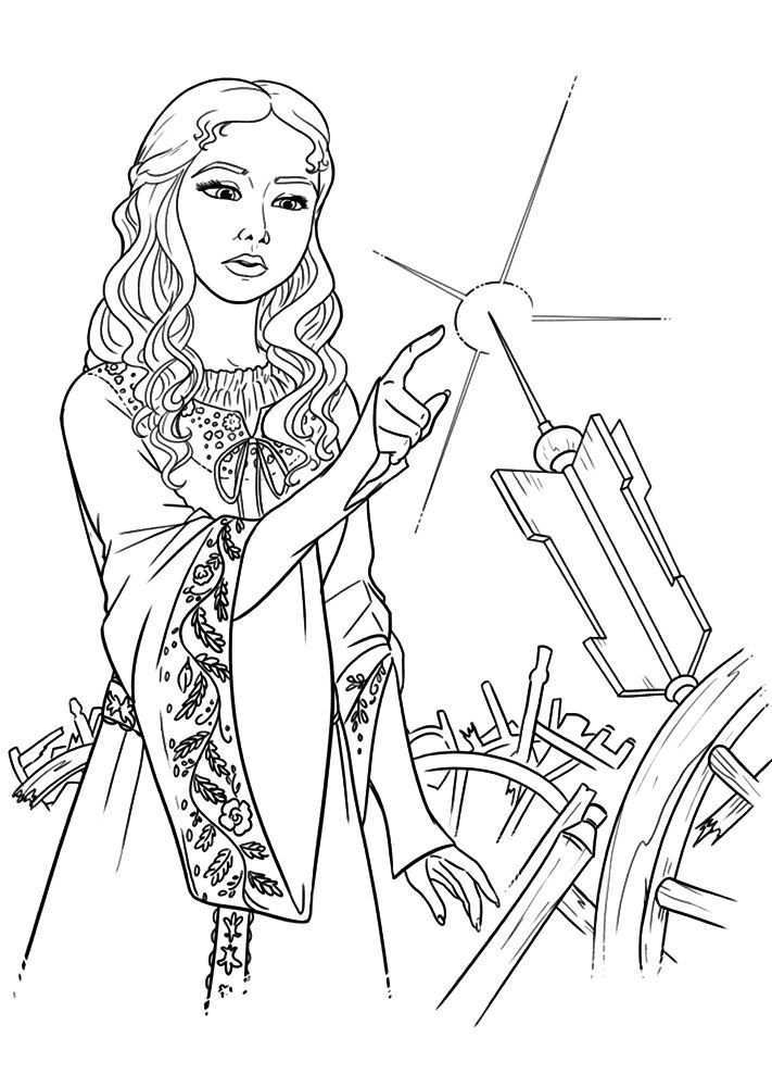 Everything About Fairytales Disney Coloring Pages Descendants Coloring Pages