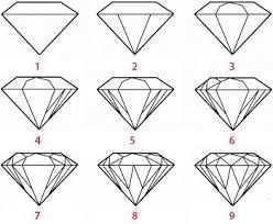Gerelateerde Afbeelding Diamant Tekening Leer Tekenen Stap Voor Stap Tekenen