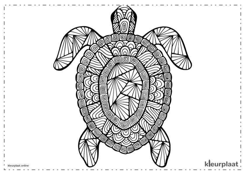 Leuke Kleurplaten Dieren Moeilijk Coloring And Drawing
