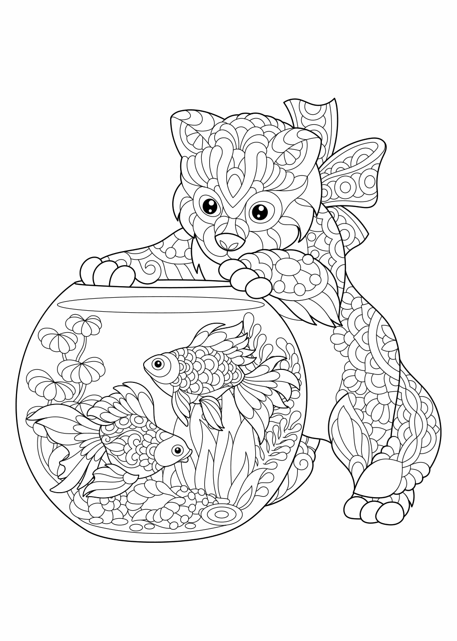 Kleurplaten Dieren Moeilijk Coloring And Drawing