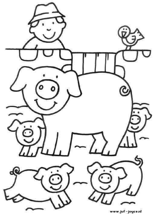Lente Knutsels Deel 3 Kleurplaten Lente Knutsels Thema 3 Kleurplaten Kleurplaten Jonge Dieren Tulp Narcis Ki Kleurboek Kinderkleurplaten Boerderij Thema