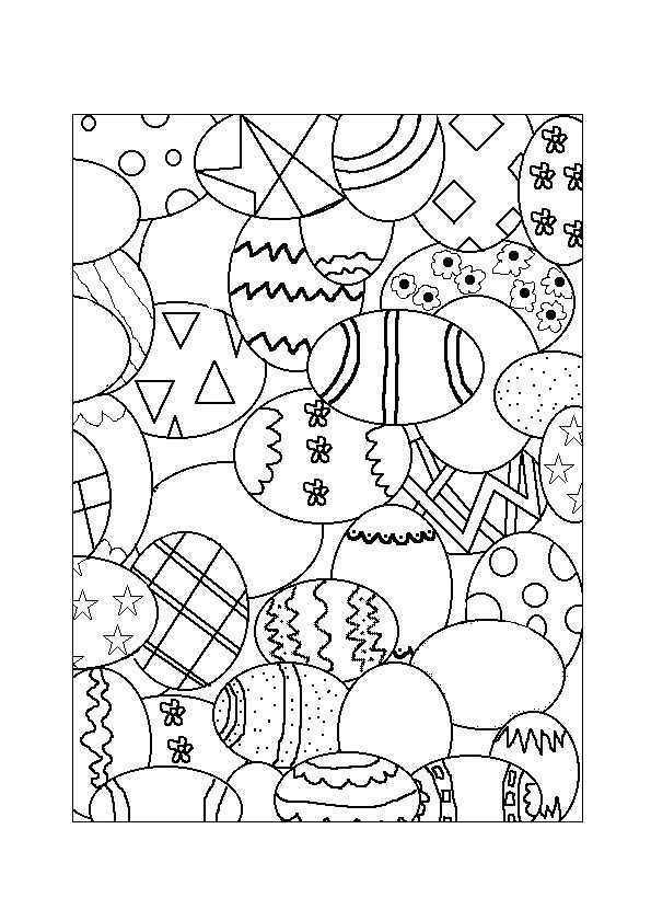 Kleurplaat Pasen 6754 Kleurplaten Knutselen Pasen Pasen Knutselideetjes Pasen