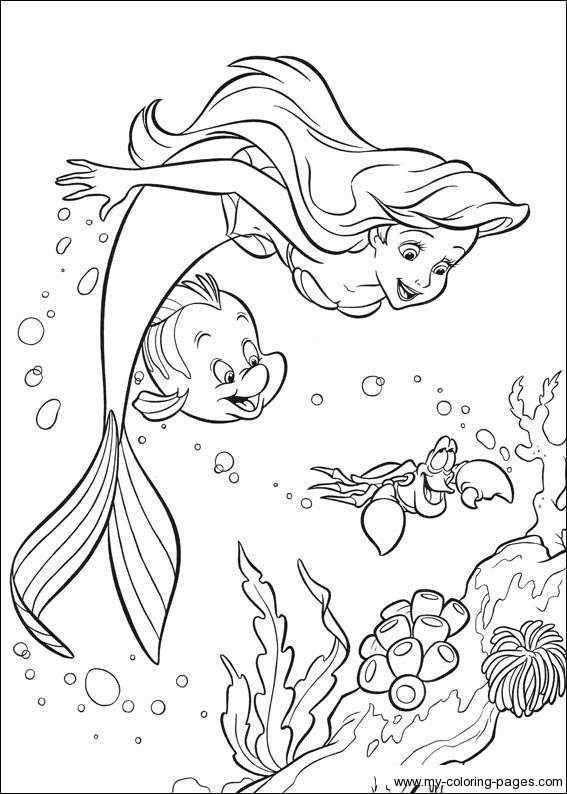 Pin Van Tri Putri Op The Little Mermaid Coloring Pages Prinses Kleurplaatjes Kleurplaten Gratis Kleurplaten
