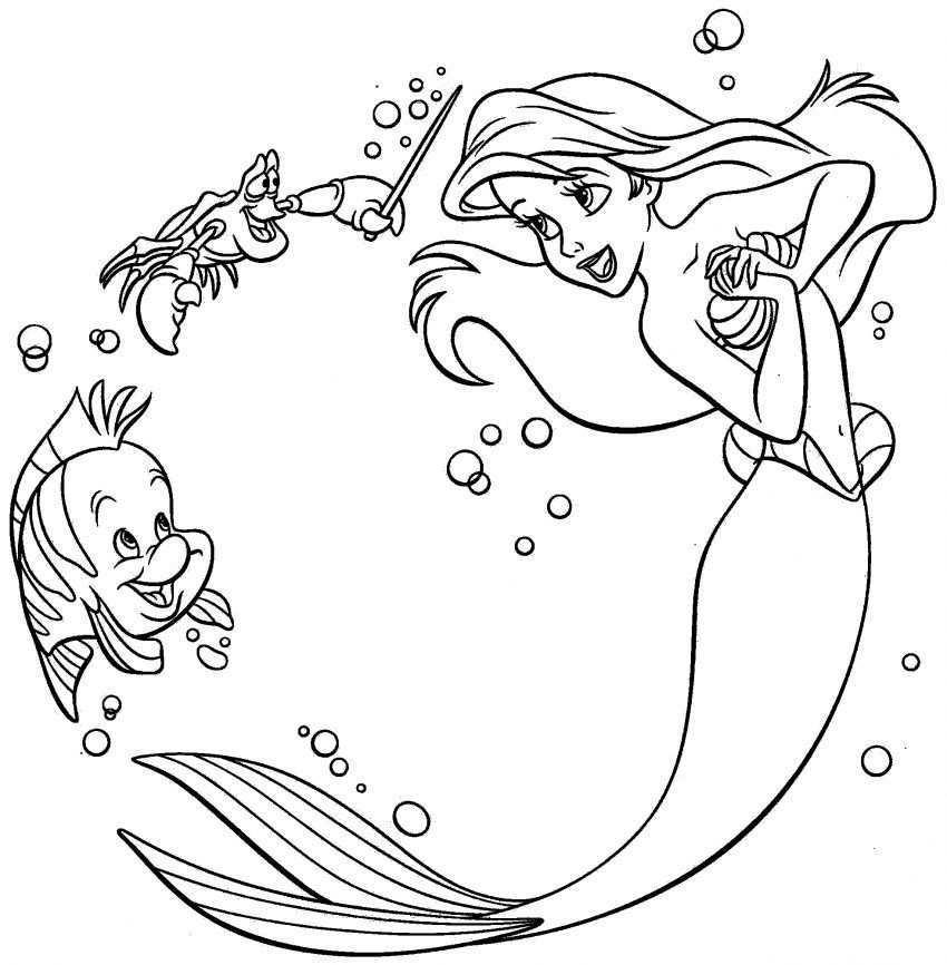Disney Princess Ariel Printable Coloring Pages Mermaid Coloring Book Ariel Coloring Pages Mermaid Coloring Pages