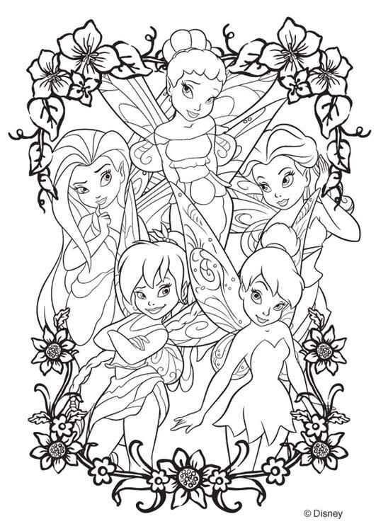 Kleurplaat Disney Fairies Afb 20746 Kleurplaten Frozen Kleurplaten Gratis Kleurplaten