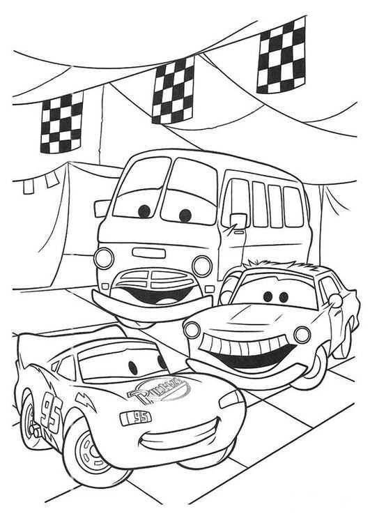 Coloring Page Cars Img 20749 Disney Coloring Pages Race Car Coloring Pages Coloring Books
