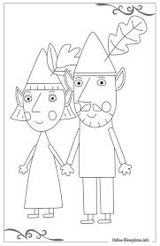 Afbeeldingsresultaat Voor Ben En Holly Kleurplaat Kleurplaten