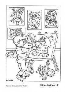 Kleuteridee Ben Horsthuis Kunst Ideeen Kunstthema Kunst Kinderen
