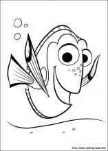 Finding Dory Coloring Pages On Coloring Book Info Nemo Coloring Pages Finding Nemo Coloring Pages Disney Coloring Pages