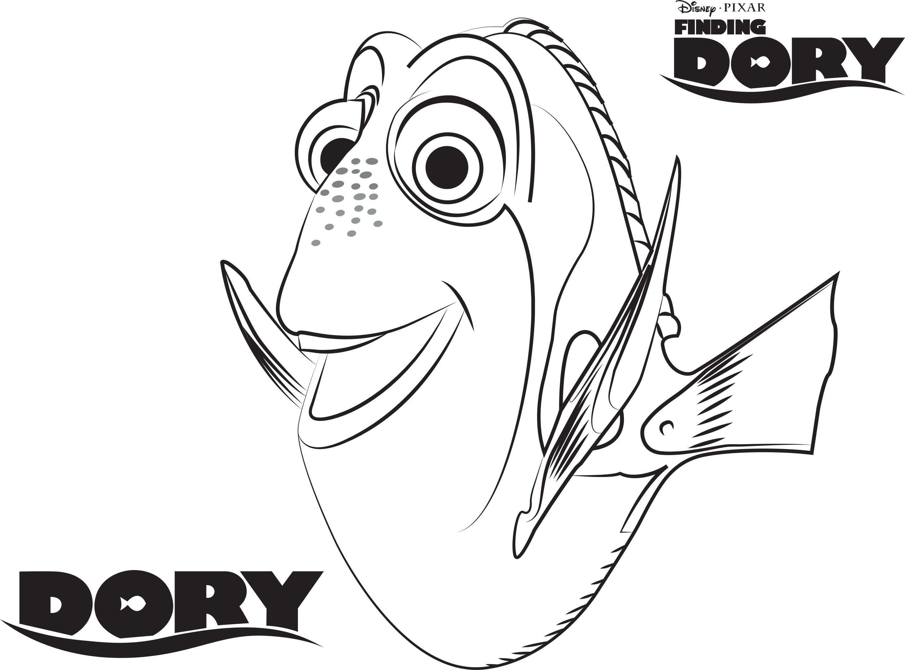 Pin By Kim Faulks On Ryba Nemo Coloring Pages Finding Nemo Coloring Pages Disney Coloring Pages