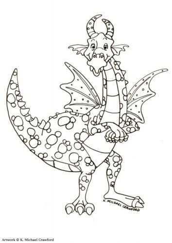 Coloring Page Dragon Img 11038 Dragon Coloring Page Coloring Pages Coloring Books
