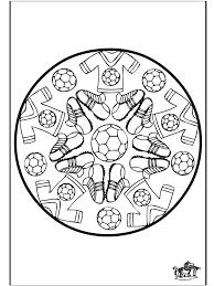 Afbeeldingsresultaat Voor Knutselen Thema Rode Duivels Voetbal Knutselen Sport Mandala