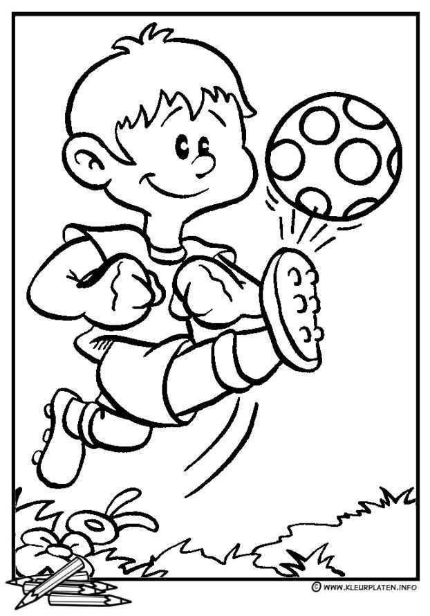 Een Klap Voor Je Kop Het Grote Koen En Lot Boek Kleurplaten Voetbal Voetbal Tekenen