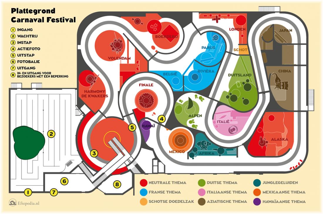 Carnaval Festival Eftepedia Alles Over De Efteling Festival Carnaval Italiaans Thema