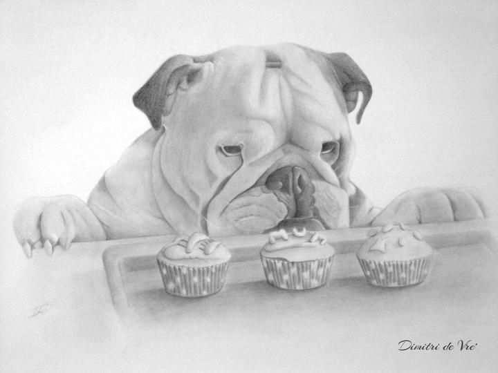 Coloring For Adults Kleuren Voor Volwassenen Hond Tekeningen Dieren Kleurplaten Realistische Tekeningen