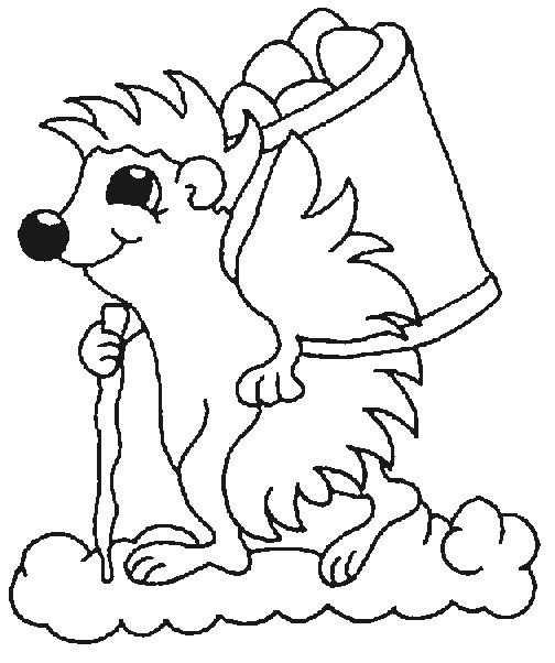 Kleurplaten En Zo Kleurplaten Van Egels Animal Coloring Pages Coloring Pictures Of Animals Coloring Pages