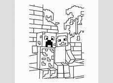 Kleurplaat Enzoknol Kids N Fun De 19 Ausmalbilder Von Minecraft Menaralogam