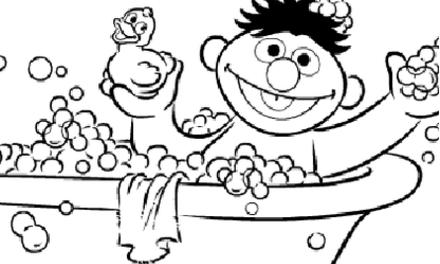 Sesamstraat Bert Ernie Voetballen Kleurplaten Diy Zappelin Kleurplaten Sesamstraat Baby Boek