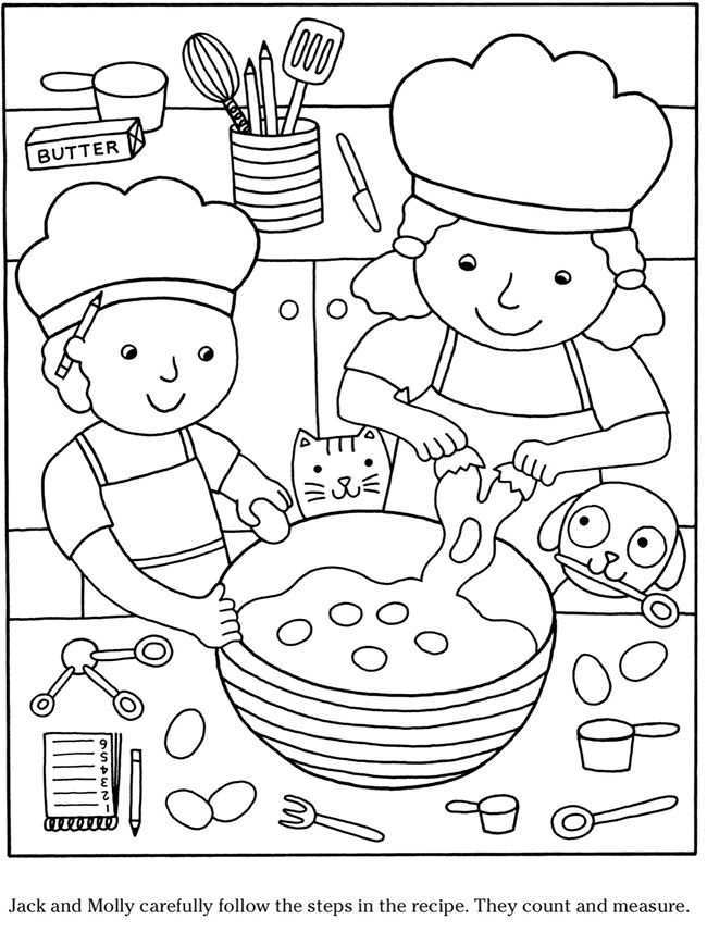 Welcome To Dover Publications Knutselen Thema Eten Thema Kleurboek