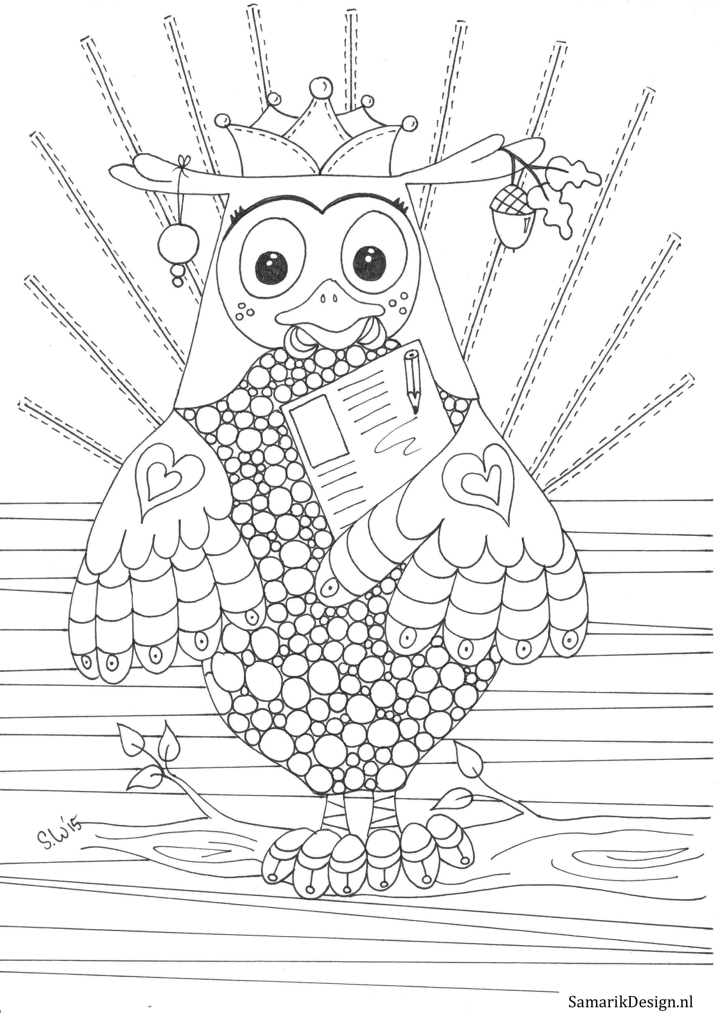 Kleurplaat Voor Volwassenen Fabeltjeskrantstyle Kleurplaten Dieren Kleurplaten Kleurboek