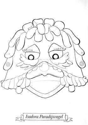 Het Verzameloord Fabeltjeskrant Maskers Maskers Bruiloft Geld Geschenken Thema