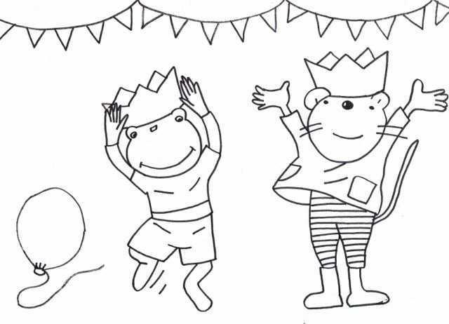 Kleurplaten Nellie En Cezar Google Zoeken Verjaardag Knutselen Peuters Verjaardagsideeen Verjaardag