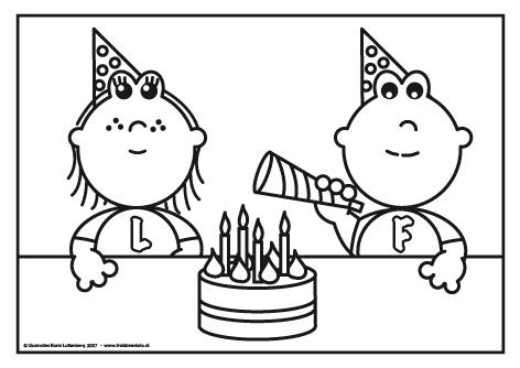 Lola En Frokkie Jarig Zijn Google Zoeken Kleurplaten Verjaardag Gefeliciteerd