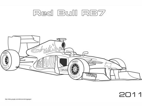 Formula 1 Car Pictures To Colour In Kleurplaten Formule 1 Vlag
