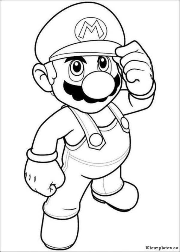 Super Mario Bros Kleurplaat 43900 Kleurplaat Kleurplaten Gratis Kleurplaten Mario