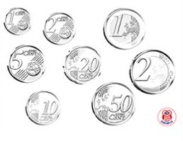 Euromunten Geld Kleurplaten