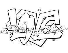 Graffiti Letters Britt Google Zoeken Graffiti Kleurplaten Hart Tatoeage Ontwerpen