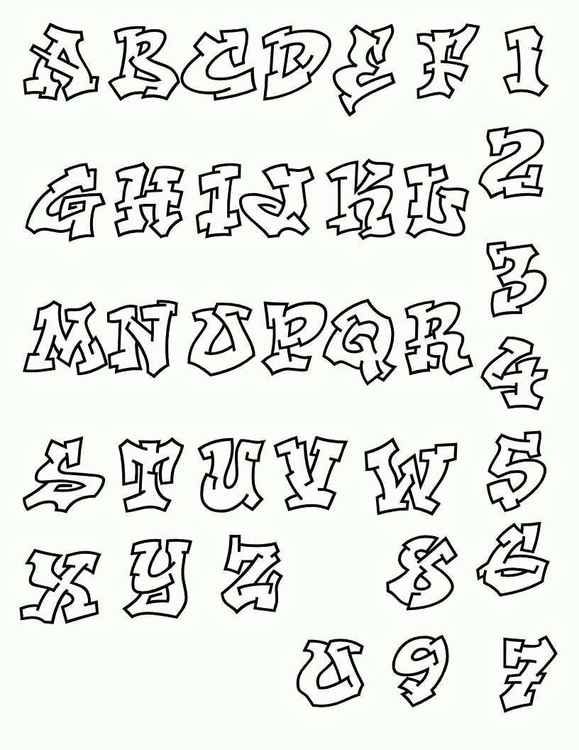 Graffiti Fancy Script Alphabet Letters Calligraphy Lettering Alphabet Graffiti Text Graffiti Lettering