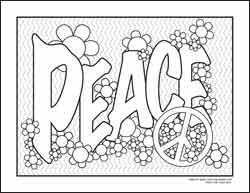 Peace Sign Coloring Pages 3 Jpg 250 193 Pixels Free Coloring Pages Coloring Pages Coloring Books