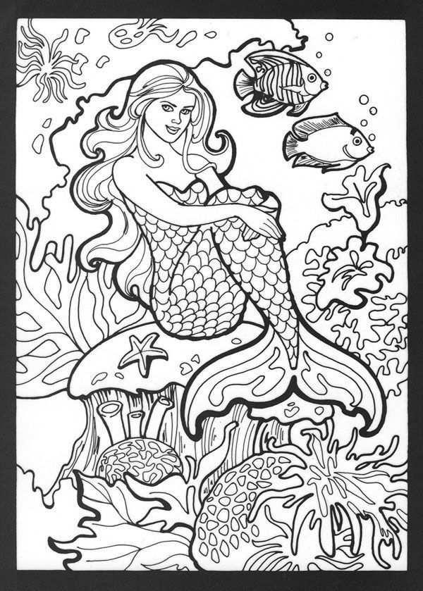 Kleurplaat Zeemeermin Realistic Mermaid Coloring Pages Download And Print For Free Mermaid Coloring Book Mermaid Coloring Pages Mermaid Coloring